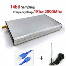 SDR Receiver Kit 1KHz-2GHz High Performance Software Defined Radio Receiver For SDRplay