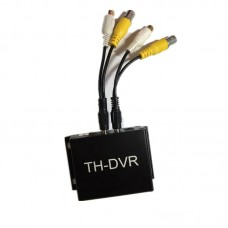 1080P Mini Car DVR Mini CCTV DVR One-Way DVR Digital Video Recorder Support TF Card 128GB TH-DVR