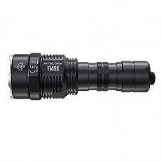 TM9K USB Rechargeable LED Flashlight Super Bright Tactical Flashlight 9500 Lumen IP68 Type-C