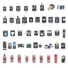 Pack of 45pcs Sensor Kit Learning Kit Sensors Modules For Arduino R3 Raspberry Pi MCU