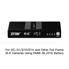 ZITAY Professional Digital Camera External Battery For Full Frame SLR DC-S1 S1R S1H Using DMW-BLJ31G