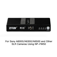 ZITAY Digital Camera External Battery For Sony SLR Camera A6300 A6500 Or A7S A7S2 A7M Using NP-FW50