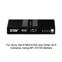 ZITAY Digital Camera External Battery For Sony A9 A7M3 A7R3 A6600 SLR Cameras Using NP-FZ100 Battery