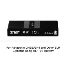 ZITAY Digital Camera External Battery For Panasonic GH5S GH4 SLR Camera Using BLF19E Battery