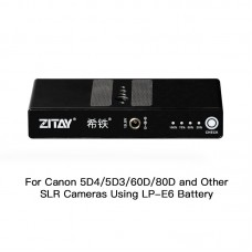 ZITAY Digital Camera External Battery For Canon 5D4 5D3 60D 80D SLR Cameras Using LP-E6 Battery