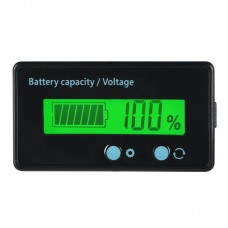 Battery Capacity Voltage Meter Indicator For Electric Vehicle Car Battery Lithium Lead Acid Battery