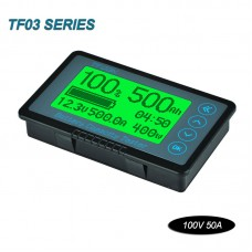 Coulometer Battery Capacity Tester Battery Capacity Voltage For Car Storage Battery 100V 50A Sampler