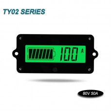 Coulometer Battery Capacity Indicator Capacity Voltage For Various Batteries (80V 50A Sampler)