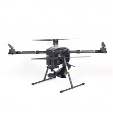 HK40 4Axis Agricultural Drone Quadcopter Drone 1000mm 14X Zoom PTZ 12MP For Spraying Security Search