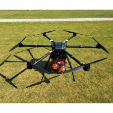 HK60 6Axis Drone Agricultural Drone Multirotor 1600mm 14X Zoom PTZ 12MP For Spraying Security Search