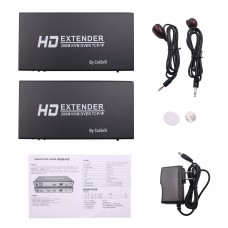 HDMI KVM Extender 200M/656FT Over TCP/IP By Cat5e/6 Support 1080P EC200K