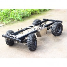 RC Car Chassis Frame For DIY 4-Stroke Gas Powered RC Car Climbing Model Car Accessories Unassembled
