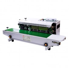Automatic Sealing Machine Continuous Sealing Machine For Film Aluminum Foil Packaging FR-900H 220V