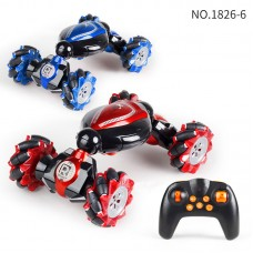 1:12 RC Stunt Car Twisting Off-Road Vehicle Music Drift Dancing Side Driving RC Toy For Kids 1826-6