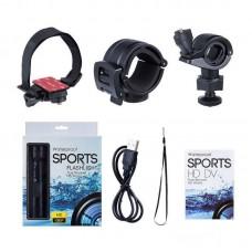 5MP Sport DV HD 1080P Waterproof Sport Action Camera Sport Camera Camcorder Flashlight Compass