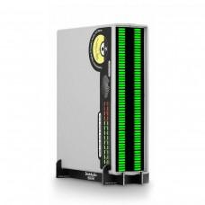 VU56-G VU Level Meter 56 Bit LED Music Spectrum Display Stereo Sound Indicator Green