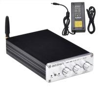 2.1 Bluetooth Amplifier Class D HiFi Power Amplifier Amp 300W BT5.0 For APTX PA-02 24V Power Supply