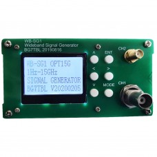 Wideband RF Signal Generator Power Regulation Broadband Support External Reference WB-SG1 1Hz-18G
