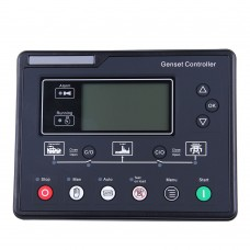 Diesel Generator Controller HGM6120U Genset Controller Module Panel with LCD Display