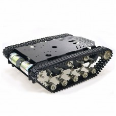 All Metal Tank Chassis Tracked Chassis DIY Smart Robot Car Chassis 5-10KG Capacity Assembled TS900