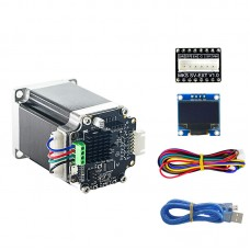 57 Closed Loop Stepper Motor Set MKS SERVO57A Servo Motor with Adapter Board Display for 3D Printer