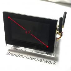 "Duplex Hotspot Board Duplex MMDVM Hotspot Mini Repeater with 3B 4.3"" Big Screen Assembled"