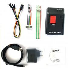 AVR ISP Programmer Serial USB Offline Downloader Bootloader Download Cable 5V Power Supply Version
