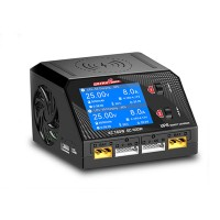 UP6 Dual Channel Battery Balance Charger Smart Discharger 400W AC DC for RC Model Lithium Battery