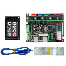 Makerbase MKS Robin Nano 3D Printer Motherboard ARM Control Board with 2.4 Inch Touch Screen