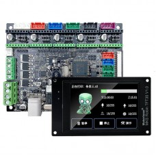 Makerbase MKS Robin Nano 3D Printer Motherboard ARM Control Board with 3.5 Inch Touch Screen