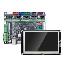 Makerbase MKS Robin Nano 3D Printer Motherboard ARM Control Board with 4.3 Inch Touch Screen