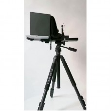 YISHI 10 Inch Mobile Phone Teleprompter Portable Pad Tablet Prompter for Video Live Interview Speech