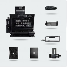 Camera Mobile Phone Teleprompter Portable Prompter 147x126mm Screen for Interview Shoot Video Live