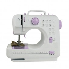 Mini Desktop Sewing Machine Home Sewing Machine with Expansion Table Light Enable 12 Stitches