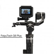 FeiyuTech G6 Plus 3-Axis Stabilizer Handheld Gimbal for Mirrorless Camera GoPro Smart phone Payload 800g