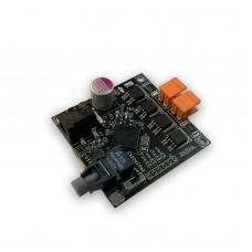 Mini DRSSTC Driver Board PDM DRSSTC Dual Modes Power Supply 12V DC (HFBR-2521 Fiber Optic Connector)