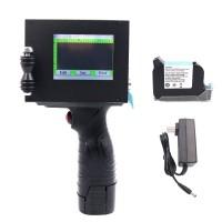 Handheld Inkjet Printer 600DPI 2-12.7mm Print Height Date Time Words QR Code Barcode Logo