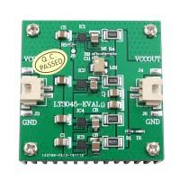 4PCS LT3045 2A Module Single Power Supply Module Linear RF Regulator Board Low Noise with Heat Sink