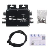 GTB-600 Grid Tie Inverter Solar Grid Tie Micro Inverter 600W Output Support Phone APP Control