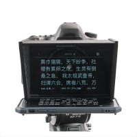 Mobile Phone Teleprompter Portable SLR Camera Prompter with Remote for Video Shot Interview Live