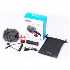 BOYA BY-MM1 Video Record Microphone for DSLR Camera Smartphone Recording Interview Live Vlogging
