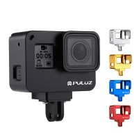 Camera Housing Shell Camera Cage with Frame Aluminum Alloy For GoPro HERO(2018)/7 Black/6/5 PU186