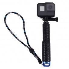 19-49cm Extendable Pole Selfie Stick For GoPro NEW HERO/HERO7 DJI Osmo Action Xiaoyi PU150