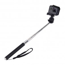 22.5-100cm Extendable Pole Selfie Stick For GoPro NEW HERO/HERO7 DJI Osmo Action Xiaoyi PU55