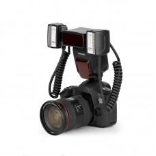 Yongnuo YN24EX Macro Flash Light Macro-photo Flash Speedlite TTL with Double Head For Canon