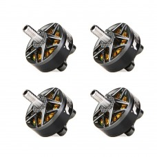 T-Motor 4pcs FPV Motor Brushless For FPV Racing Drone FPV Freestyle Frame F60Pro IV KV1750 (Grey)