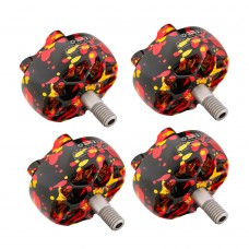 4pcs T-Motor Outrunner Brushless Motor For FPV Racing Drone Quadcopter P2207.5 KV1750 Mixed Gold 5-6S
