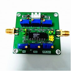 UAF42 Active Filter Adjustable Highpass/Lowpass/Bandpass Filtering Board Q value Module for Ham Radio Amplifier