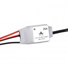 T-Motor Brushless ESC RC ESC AT Series 20A 2-3S For RC Fixed Wing Aircraft (AT-20A)
