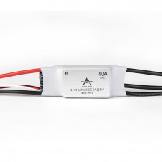 T-Motor Brushless ESC RC ESC AT Series 40A 2-4S For RC Fixed Wing Aircraft (AT-40A-UBEC)